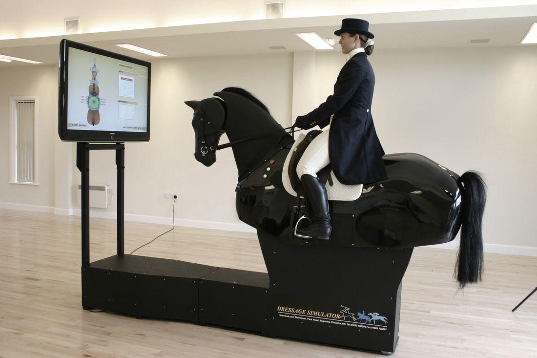 horse riding machine